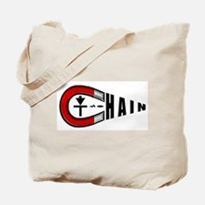 Disc Golf Chain Magnet Tote Bag