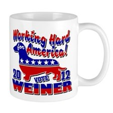 Weiner 2012 Working Hard for Mug