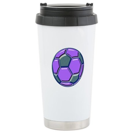 Soccer Impressions Stainless Steel Travel Mug