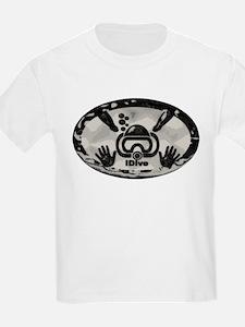 idive metallic PAINT T-Shirt