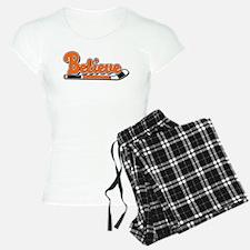 Believe Orange & Black! Pajamas