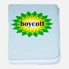 Boycott BP baby blanket