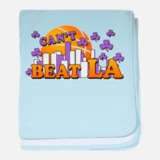 Can't Beat LA! baby blanket
