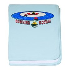 Curling Rocks Mag baby blanket