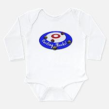 Curling Rocks! Long Sleeve Infant Bodysuit