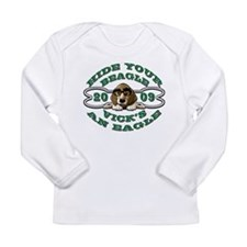 Vick Beagle Eagle Disguised Long Sleeve Infant T-S