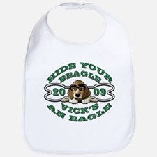 Vick Beagle Eagle Disguised Bib