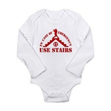 In Case of Emergency Use Stai Long Sleeve Infant B