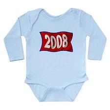 2008 Philly Flag Long Sleeve Infant Bodysuit