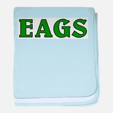 Classic Eags baby blanket
