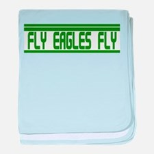 Fly Eagles Fly! baby blanket