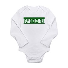 Fly Eagles Fly! Long Sleeve Infant Bodysuit