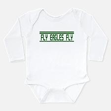 Fly Eagles Fly! Long Sleeve Infant Bodysuit