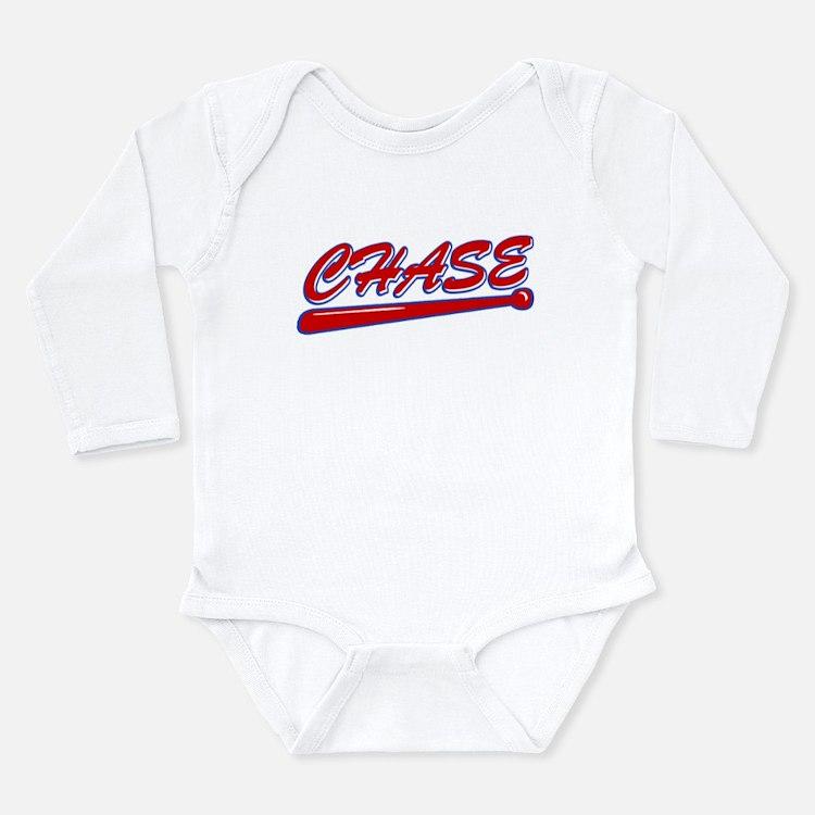 Chase Classic Bat Long Sleeve Infant Bodysuit