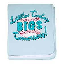 Littles Today Bigs Tomorrow baby blanket