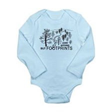 Leave Nothing but Footprints Long Sleeve Infant Bo