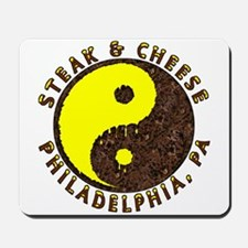 Steak and Cheese Philly Desig Mousepad