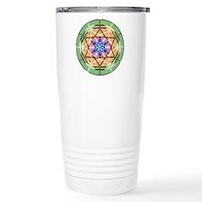 Disc Basket Circle Star Travel Mug