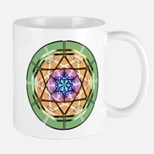 Disc Basket Circle Star Mug