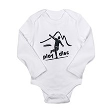 Disc Launch Green Long Sleeve Infant Bodysuit