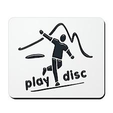 Disc Launch Green Mousepad