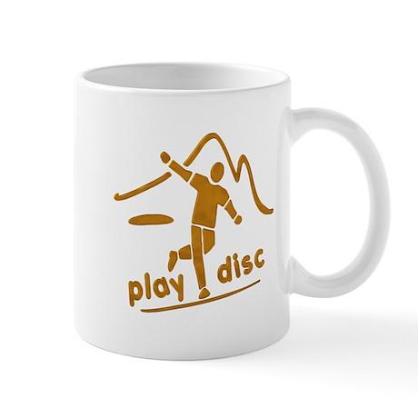 Disc Golf Launch Rust Mug