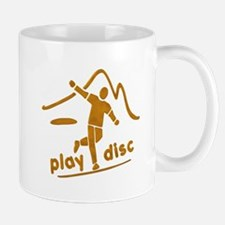 Disc Golf Launch Rust Mug