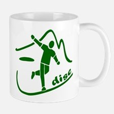Disc Launch Green Mug