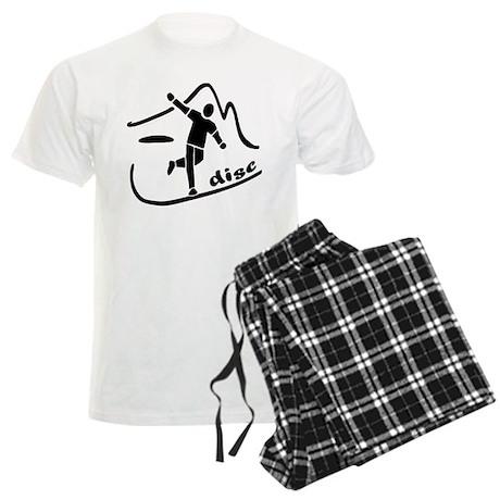 Disc Launch Black Men's Light Pajamas