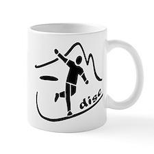 Disc Launch Black Mug