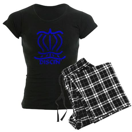 Asiatic Discin' Design blue Women's Dark Pajamas