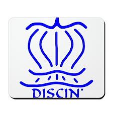 Asiatic Discin' Design blue Mousepad