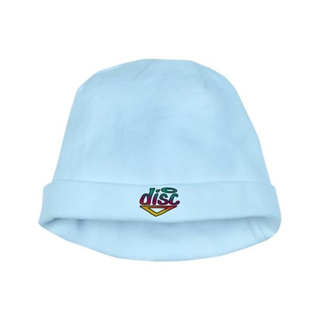 Disc Golf Text Shape1 baby hat