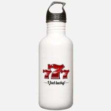"""I Feel Lucky"" Water Bottle"
