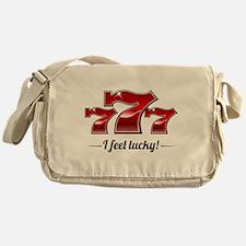"""""""I Feel Lucky"""" Messenger Bag"""