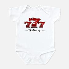 """""""I Feel Lucky"""" Infant Bodysuit"""