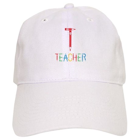 Pencils Teacher Cap