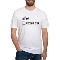 vi vs emacs -- vi Shirt