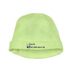 vi vs emacs -- emacs baby hat
