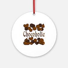 Chocoholic Ornament (Round)