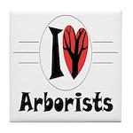 Arborist Tile Coaster