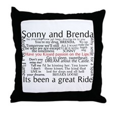 Cute Sonny Throw Pillow