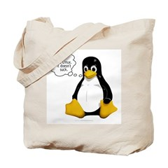 Use Linux. It doesn't suck Tote Bag