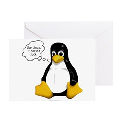 Use Linux. It doesn't suck Greeting Cards (Pk of 1