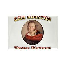 Sam Houston Rectangle Magnet