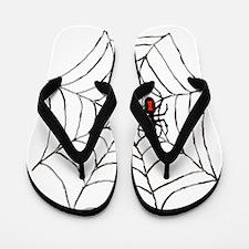 Black Widow Flip Flops