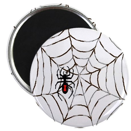 "Black Widow 2.25"" Magnet (10 pack)"