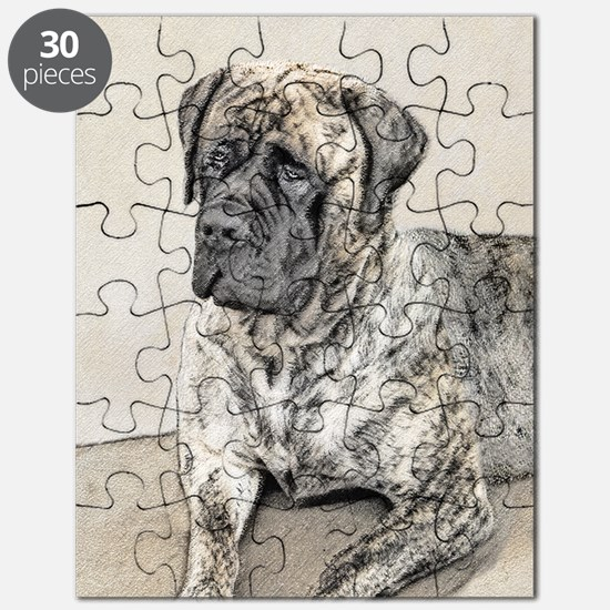 English Mastiff (Brindle) Puzzle