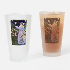 The Rose Faries Drinking Glass