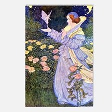 The Rose Faries Postcards (Package of 8)